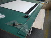 screen surface work table